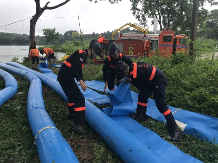 Search Teams at Say Pumping Out Water Key to Success of Rescue at Luang Cave in Chiang Rai