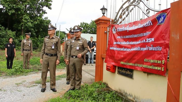 Police in Chiang Rai Seize Assets of Suspected Drug Traffickers