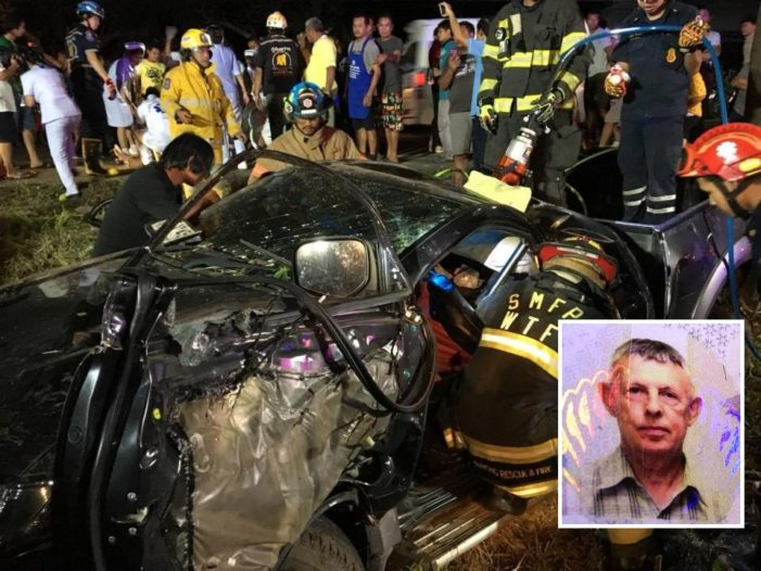 79 Year-old British Expat Charged with Drunk Driving Causing Death in Central Thailand