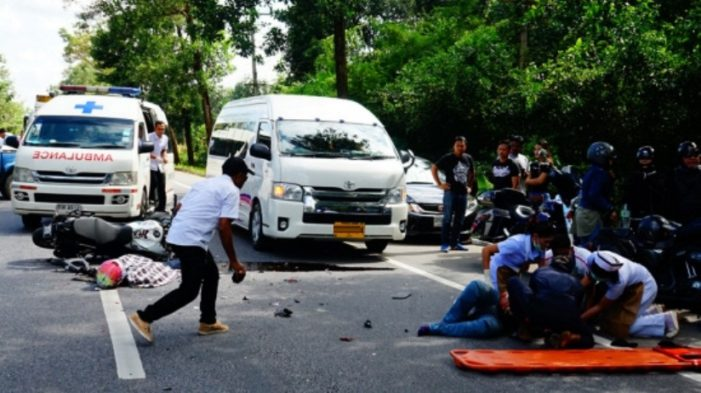 Two Chinese Tourists Killed in Chiang Mai after Being Run Over by Sedan