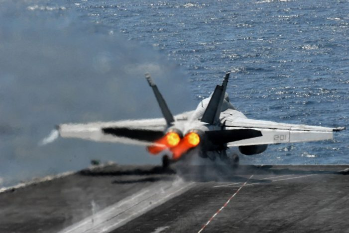 US F-15 Jet Fighter Crashes into the Sea off Okinawa, Japan