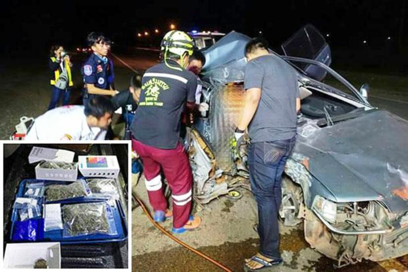 60 Year British Expat Killed after Police Car Chase in Northeastern Thailand