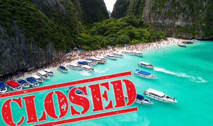 Thailand Closes Maya Bay Beach Made Famous by Leonardo DiCaprio Due to Over-Tourism