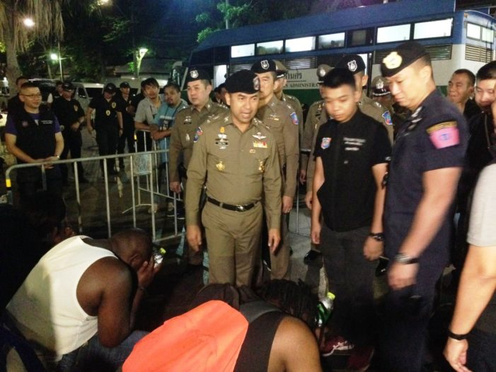 Thailand's Tourist Police Arrest 50 Foreigners for Illegal Entry and Overstaying Visa