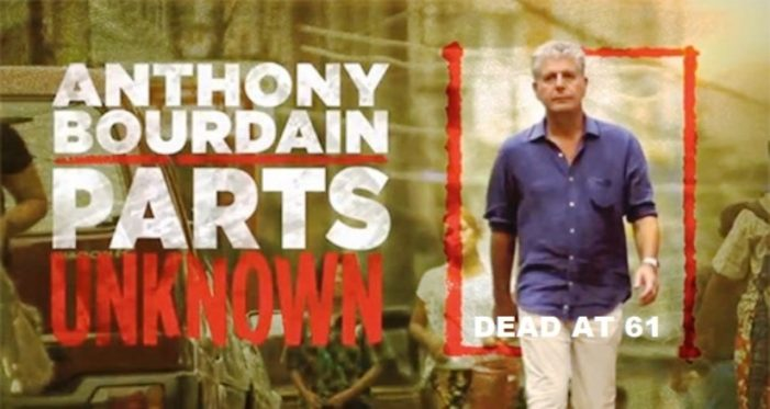 Celebrity Chef Anthony Bourdain Found Dead from Apparent Suicide