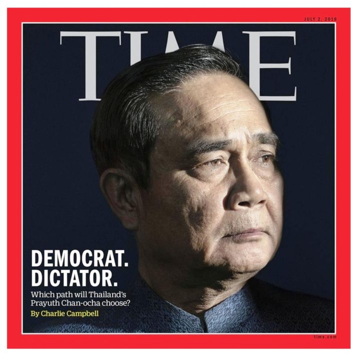Thailand's Junta Leader Makes Cover of Time Magazine