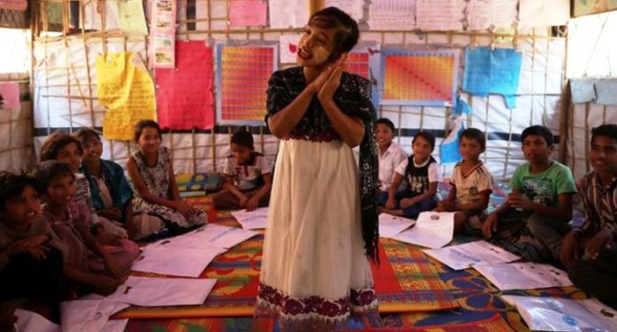 Rohingya Girls Dream of School While Hiding in Prison Like Tents from Traffickers and Sexual Preditors