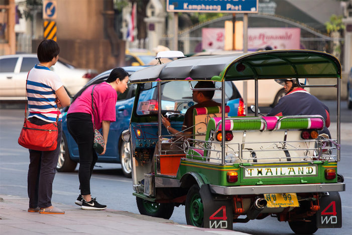 Tourist Police Arrest Tuk Tuk and Taxi Drivers Taking Advantage of Tourists