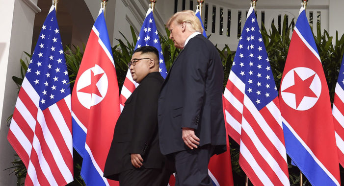 Joint Statement of President Trump and Chairman Kim