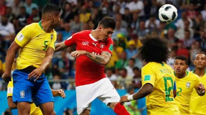 Switzerland Holds Brazil to a 1-1 Draw at World Cup
