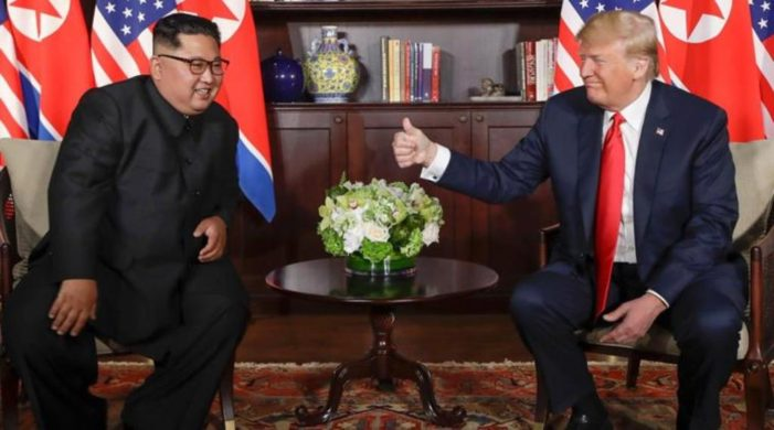 Trump, Kim Agree on Denuclearization at Singapore Summit