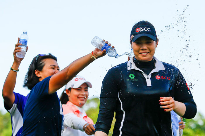 Thailand's 22 Year-old Ariya Jutanugarn Wins Women LPGA Open in Birmingham, Alabama