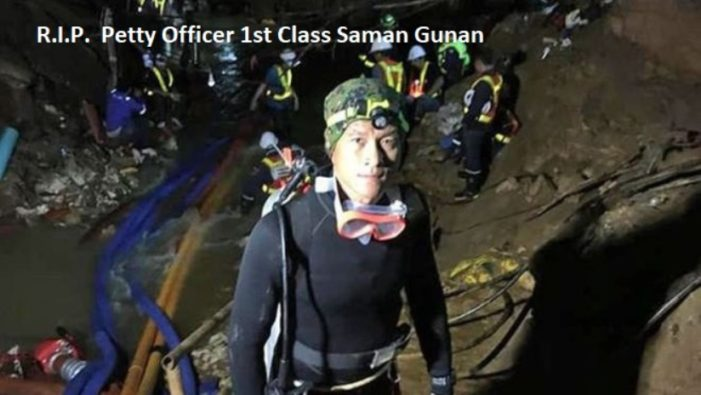 Thai Navy Seal Dies During Rescue Operations at Tham Luang Cave in Chiang Rai