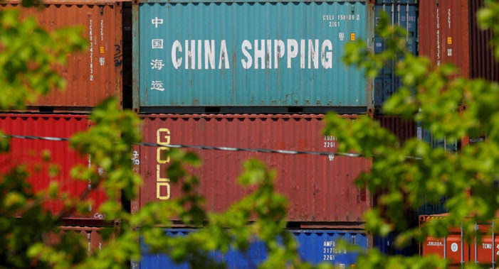 Chinese Exporters Scramble to Cope with Trumps Tariffs