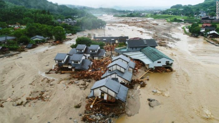 At Least 38 Dead and 50 Declared Missing as Torrential Rains Pound Japan