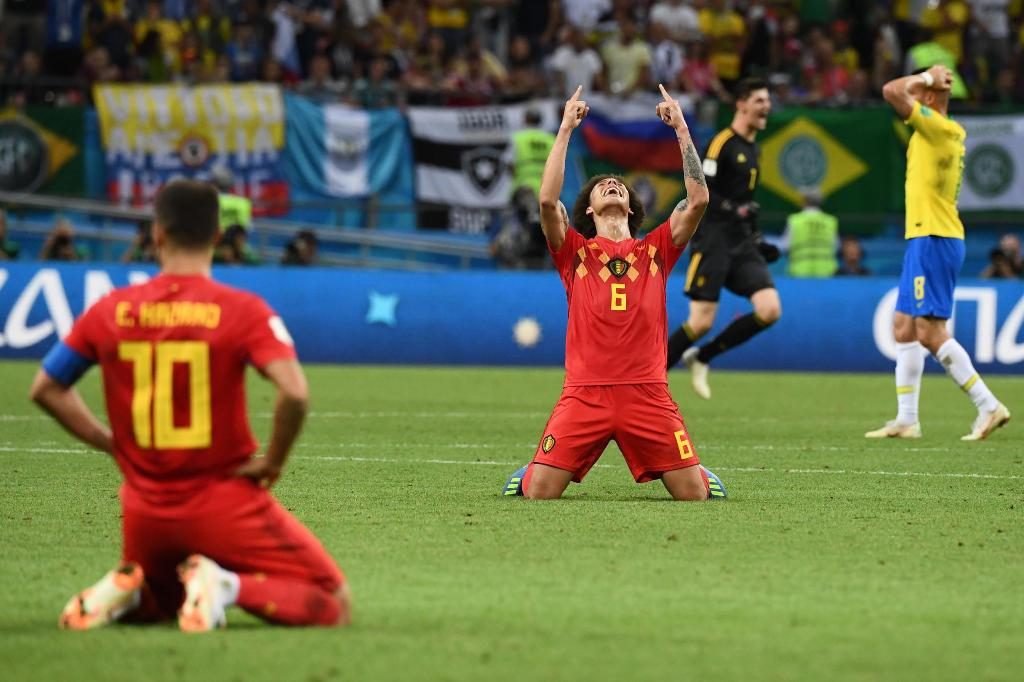 Belgium Takes Out Brazil at World Cup Quarter Final
