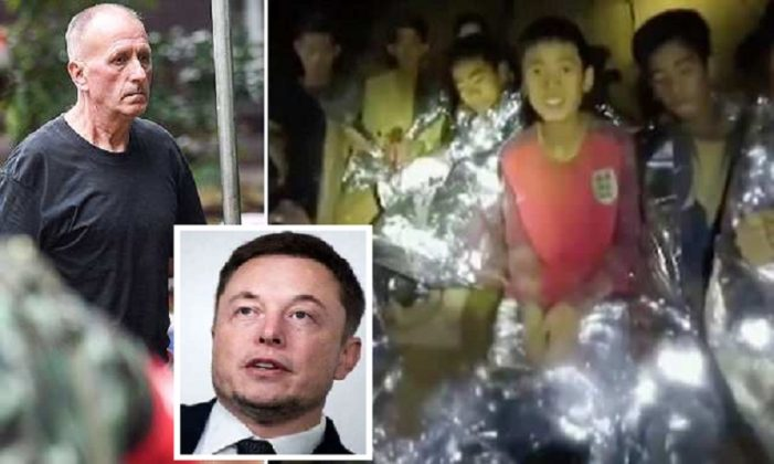 "British Diver Instrumental in Thai Cave Rescue 'Stunned' by Tesla CEO Elon Musk's ""Pedo Guy"" Tweet"