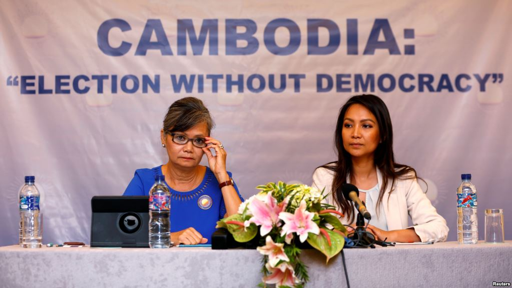 "Cambodia Prime Minister Hun Sen's Ruling Party Wins ""All ..."