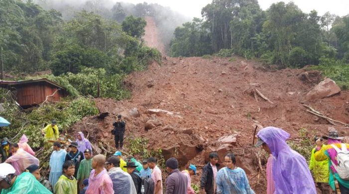 Eight Dead, 2 Missing after Landslide Hits Village in the Northern Province of Nan