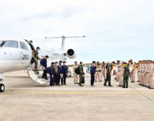 Thai Navy SEAL Members Given Hero's Welcome after Tham Luang Success
