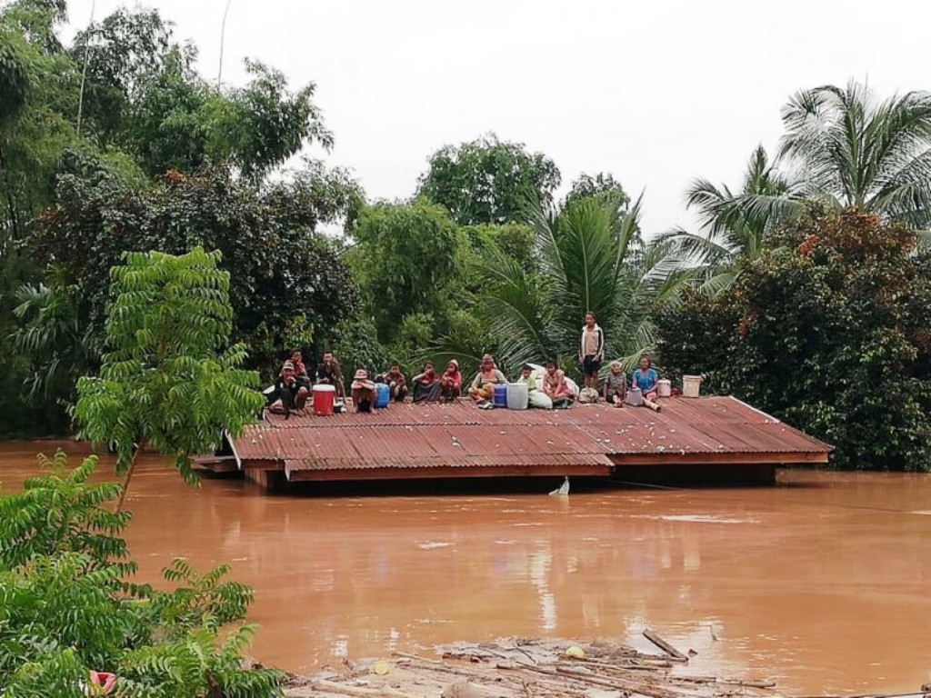 Newly Constructed Hydroelectric Dam in Laos Collapses Hundreds Missing, Towns Flooded