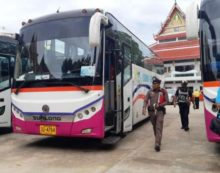Tour Bus Driver Backs Over and Kills 6 Year-Old Chinese Boy in Central Thailand