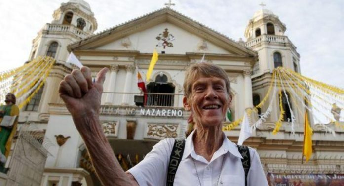 Philippine Immigration Gives Deportation Order to Australian Nun Sister Patricia Anne Fox