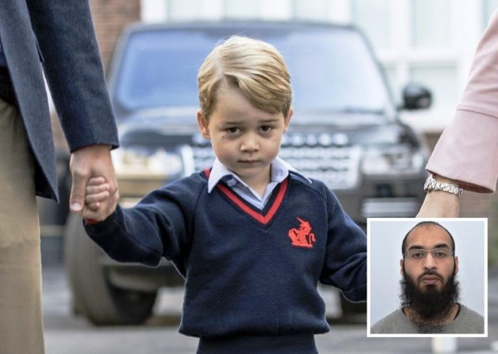 British Islamic State Supporter Jailed for Life for Planning Attack on HRH Prince George