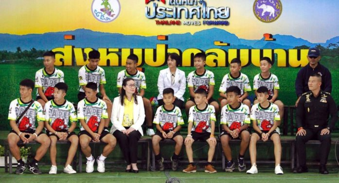 Thai Government to Host Thank You Party for Tham Luang Cave Rescuers and Helpers