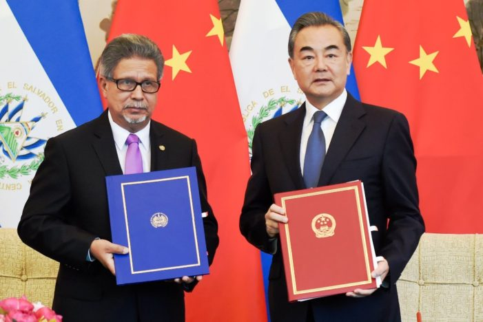 China Buying Diplomatic Ties Away from Taiwan on Country at a Time