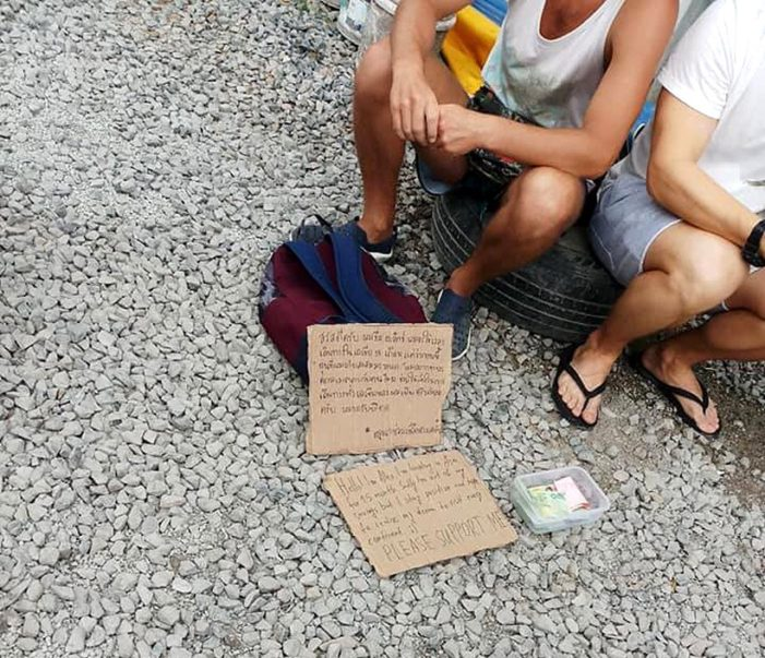 Tourists in Phuket Charged After Begging for Donations
