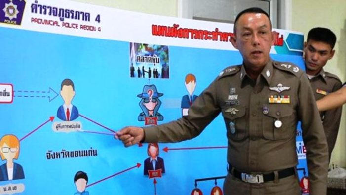 Top Cop in Northeastern Thailand Axed for Allegedly Embezzling B229 Million from 192 Policemen