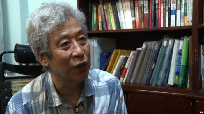 China Arrests Retired Professor at His Home During Live Interview with Voice of America