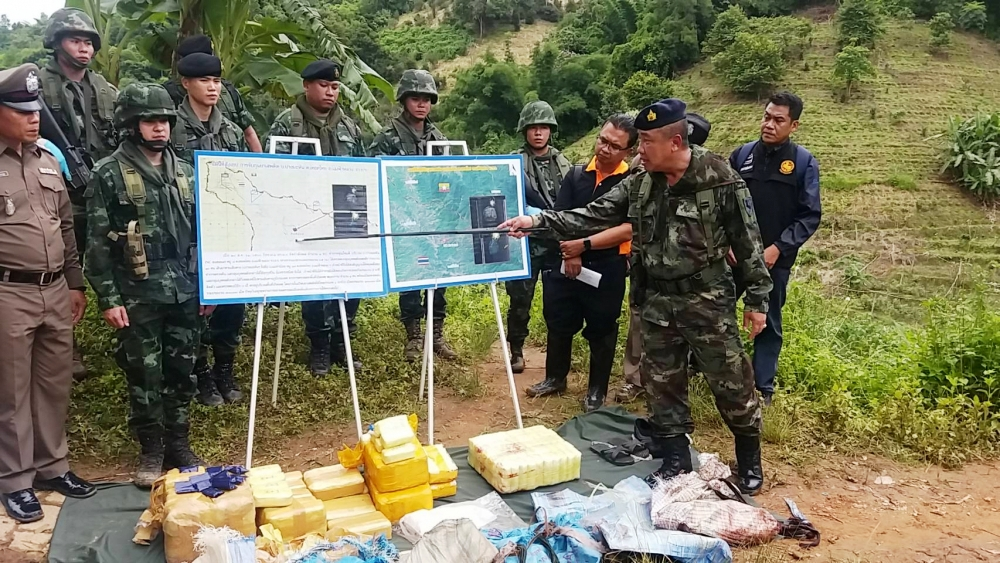 Drug Runner Dead after Fire Fight With Pha Muang Task Force at Chiang Rai Border