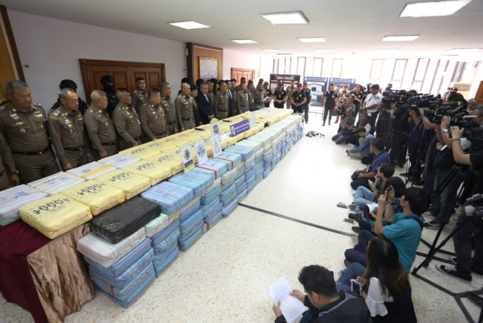 Drugs Flooding Over Thailand's Borders as Safe Mekong Initiative Intensifies
