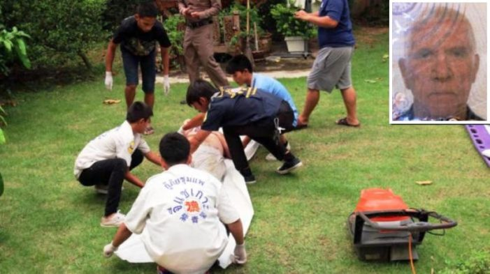 Retired Briton Electrocuted to Death While Mowing His Lawn in Northeastern Thailand