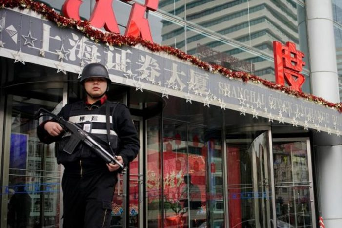 China Beefs up Security in Financial Districts