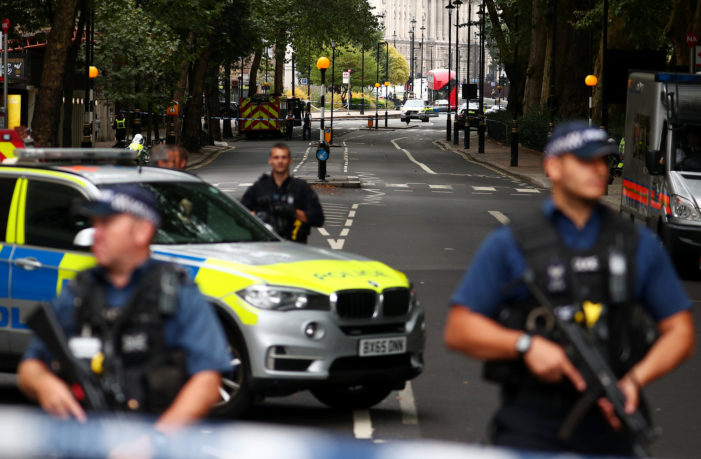Man Attacks Pedestrians with Car Outside Britain's Parliament in London