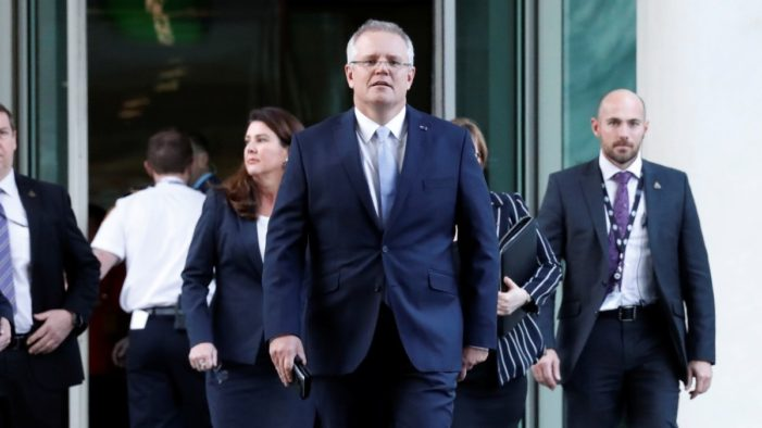 Scott Morrison Replaces Malcolm Turnbull as Australia's Prime Minister after Bitter Leadership Challenge