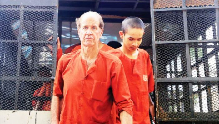 Australian Film Maker James Ricketson, Facing 10 Year Sentence for Flying a Drone in Cambodia