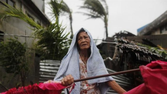 Hong Kong Braces for Typhoon Mangkhut after it Leaves 12 Dead in the Philippines