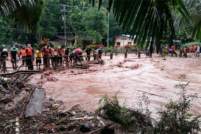 Homes in Nan Province Ordered Evacuated after Torrential Rains, Mountain Runoff Triggers Mudslides