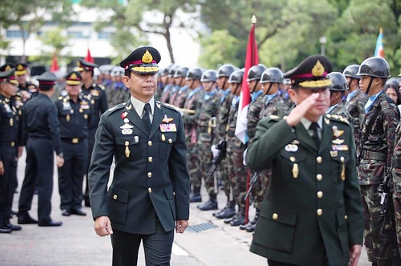 General Apirat Kongsompong Appointed Thailand's New Army
