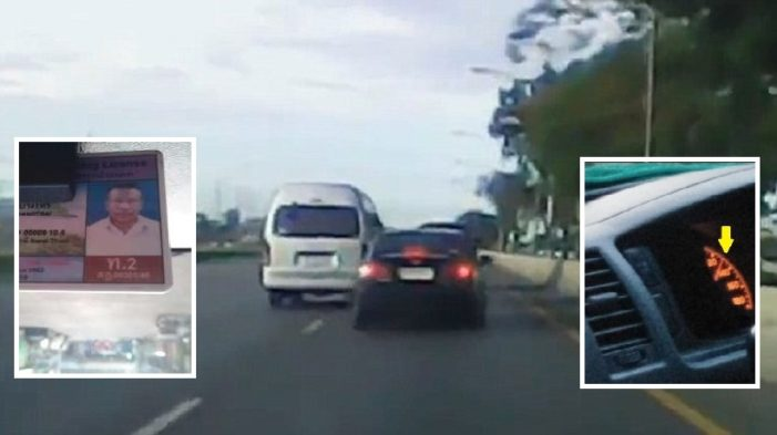 VIDEO: Thai Passenger Van Driver Summoned for Violating Public Safety after Tourists Complain he was Driving Dangerously Fast