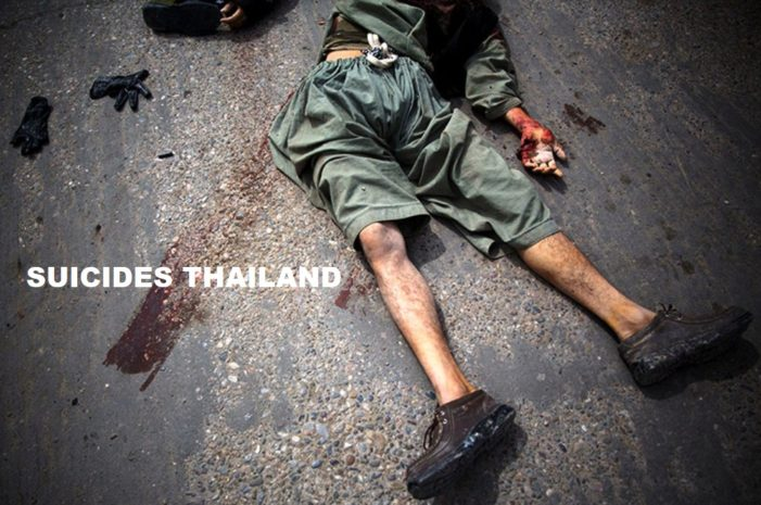 Thailand's Mental Health Dept Estimates 53,000 Thais Attempt Suicide Annually