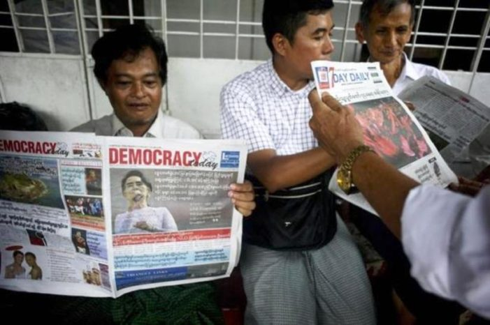 Former Myanmar Columnist Jailed for 7 Years for Negatively Criticizing Aung San Suu Kyi on Facebook
