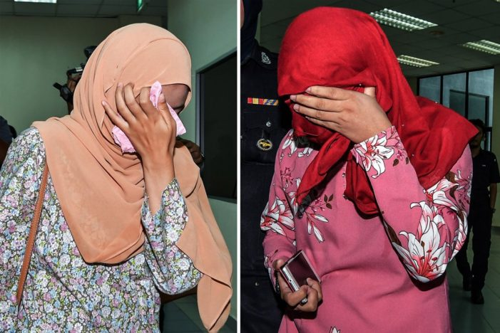 VIDEO: Two Women Publicly Caned in Malaysia for Attempting Lesbian Sex