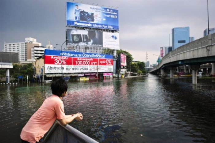 As Sea Levels Rise Around the World Bangkok Struggles to Stay Afloat