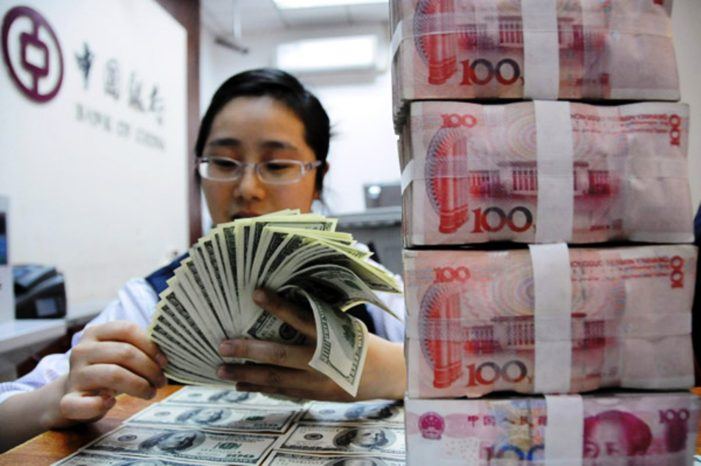 Chinese Yuan Hit its Lowest Point Versus the US Dollar a 10-Year Low