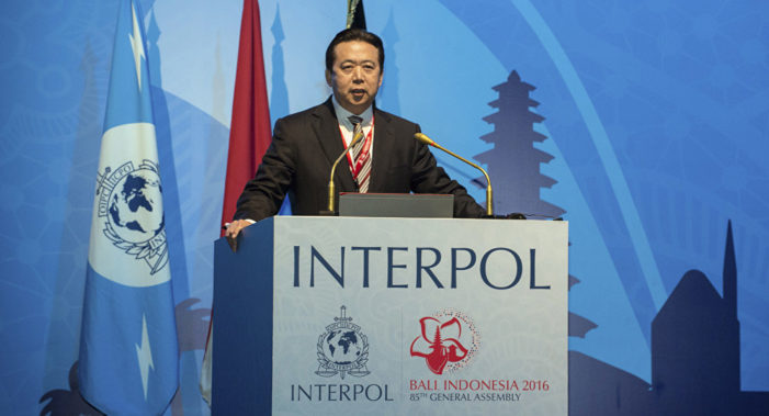 Beijing Kidnaps Head of Interpol During His Visit to China